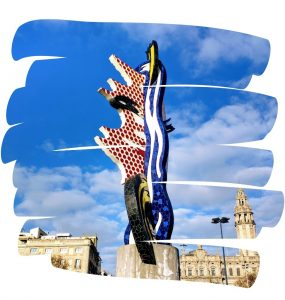 El Cap de Barcelona, Roy Lichtenstein, 1992, pic by Paul Gailey